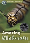 Amazing Minibeasts Book with Audio CD Pack