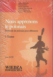 Nous apprenons le polonais książka+2 CD
