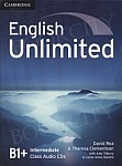English Unlimited B1+ Intermediate Class Audio CDs (3)