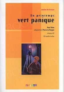 Un printemps vert panique Książka z płytą CD