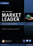 Market Leader 3rd Edition Upper-Intermediate Coursebook & DVD-ROM Pack (bez kodu)