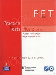 PET Practice Tests Plus 3 Tests with Answer Key, iTest CD-ROM & Audio CDs