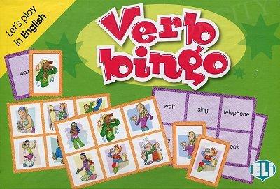 Verb Bingo English Gra językowa z polską instrukcją i suplementem