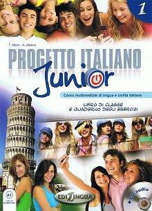 Progetto italiano junior 1 podręcznik z ćwiczeniami + CD