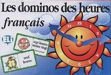 Les dominos des heures Gra językowa Gra językowa z polską instrukcją i suplementem