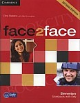 face2face 2nd Edition Elementary Workbook with key