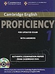 Cambridge English Proficiency 1 for updated exam (2013) Student's Book with answers and Audio CDs (2)