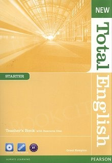 New Total English Starter Teacher's Book with CD-ROM