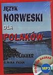 Język Norweski dla Polaków Norsk for Polakker Książka+CD
