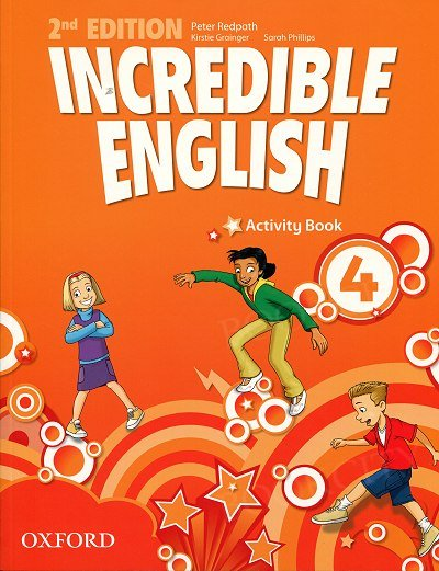 Incredible English 4 (2nd edition) Activity Book with Online Practice