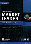 Market Leader 3rd Edition Upper-Intermediate Coursebook plus DVD-ROM plus MyEnglishLab (z kodem)