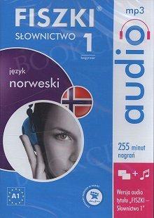 Fiszki Norweskie Audio. Słownictwo 1 Płyta CD mp3