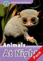 Animals At Night Book with Audio CD Pack