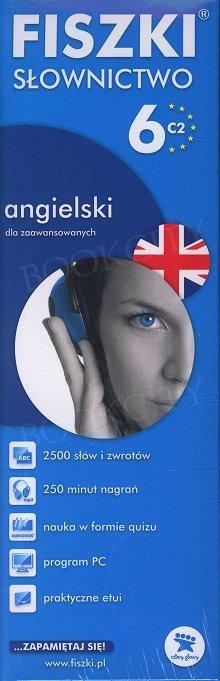 Fiszki Angielskie PREMIUM. Słownictwo 6 Fiszki + program + mp3 online