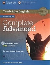 Complete Advanced 2ed Student's Book with Answers with CD-ROM