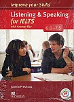 Improve your Skills for IELTS 6-7.5 Listening & Speaking Skills Książka ucznia (z kluczem) + kod online