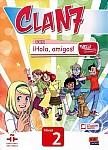 CLAN 7 con ¡Hola, amigos! Nivel 2 Podręcznik + kod dostępu online
