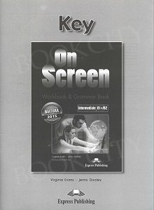 On Screen Intermediate B1+/B2 Klucz Zeszyt ćwiczeń (Matura Workbook & Grammar Book)