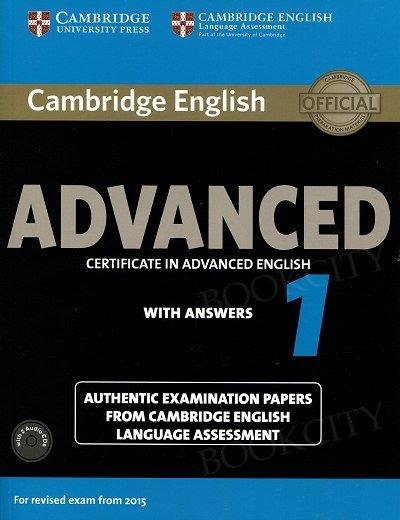 Cambridge English Advanced 1 CAE (2015) podręcznik