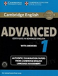 Cambridge English Advanced 1 CAE (2015) Self Study Pack (Student's Book with answers + Audio CDs)