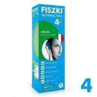 Fiszki Włoskie. Słownictwo 4 Fiszki + program + mp3 online