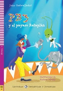 PB3 y el payaso Rataplán Książka + audio mp3