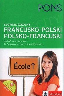 Szkolny słownik francusko-polski, polsko-francuski