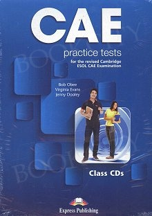 CAE Practice Tests Class Audio CDs (set of 3)