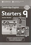 Cambridge Young Learners English Tests 9 Starters (2015) Answer Booklet