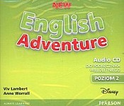 New English Adventure 2 (Reforma 2017) Class CD