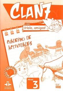 CLAN 7 con ¡Hola, amigos! Nivel 3 ćwiczenia