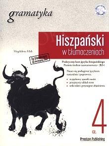 Hiszpański w tłumaczeniach. Gramatyka 4 Książka + CD mp3