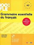 100% FLE Grammaire essentielle du français A2 Książka + CD mp3