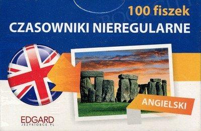 Angielski 100 Fiszek Czasowniki Nieregularne Fiszki + mp3 online