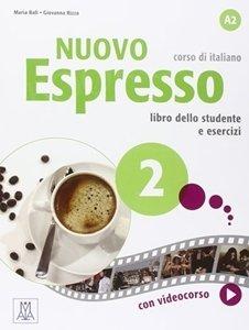 Nuovo Espresso 2 Podręcznik + Ćwiczenia + DVDrom