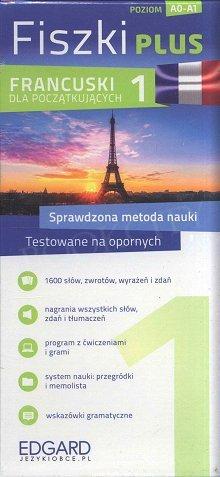 Francuski Fiszki Plus dla początkujących 1 Fiszki + program + mp3 online