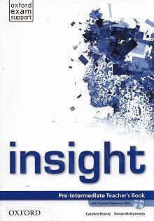 Insight Pre-Intermediate książka nauczyciela