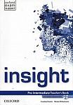 Insight  Pre-Intermediate (WIELOLETNI) książka nauczyciela