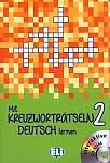 Mit Kreuzworträtseln Deutsch lernen 2 Książka + CD-Rom