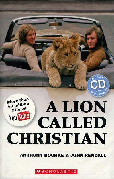 A Lion Called Christian Książka + CD