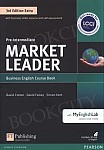Market Leader 3rd Edition EXTRA Pre-Intermediate Coursebook with DVD-ROM and MyEnglishLab Pin Pack