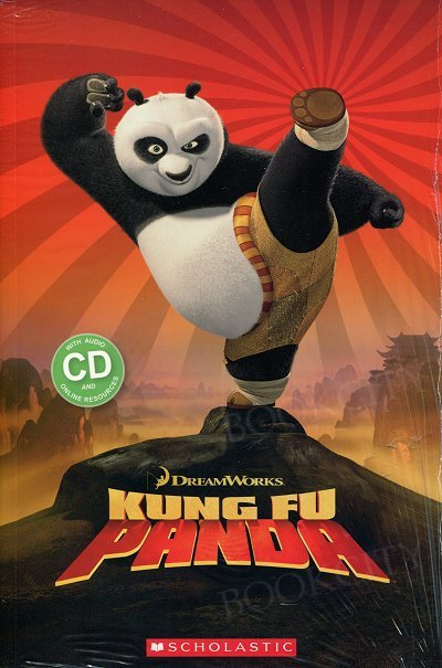 Kung Fu Panda (Poziom 2) Reader + Audio CD