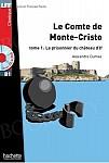 Le Comte de Monte Cristo tome 1 Książka + CD mp3