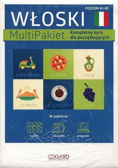 Włoski MultiPakiet - Nowa edycja(poziom A1-B1) Książka+CD