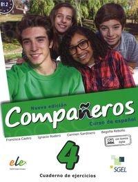 Companeros 4 Nueva Edición Ćwiczenia + licencia digital