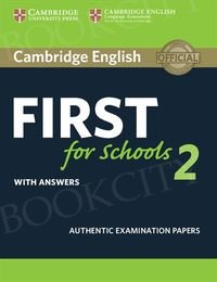 Cambridge English First for Schools 2 FCE (2016) Student's Book with Answers