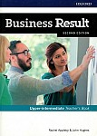 Business Result 2nd edition Upper-intermediate Teacher's Book and DVD