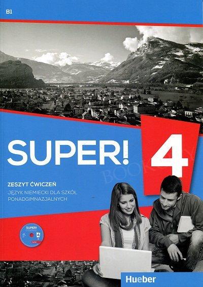 Super! 4 Zeszyt Ćwiczeń + Audio CD