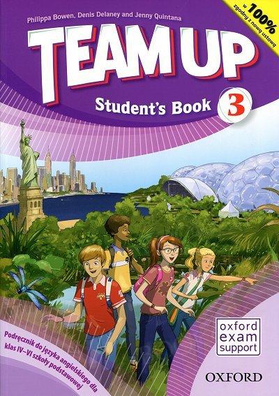 Team Up 3 (WIELOLETNI 2017) podręcznik