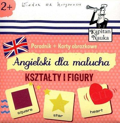 Kształty i figury Książeczka + 17 ilustrowanych kart